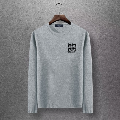 Givenchy T-Shirts Long Sleeved O-Neck For Men #816790 $27.00, Wholesale Replica Givenchy T-Shirts
