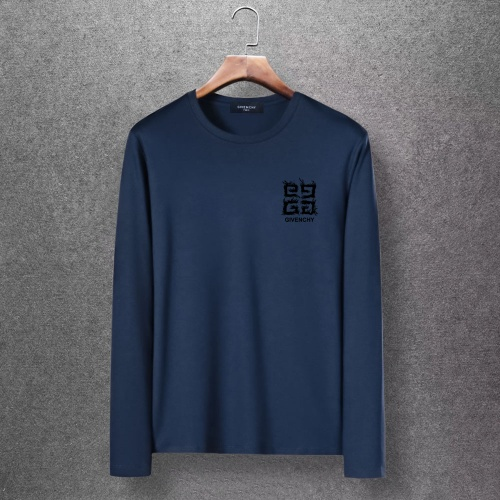 Givenchy T-Shirts Long Sleeved O-Neck For Men #816791 $27.00 USD, Wholesale Replica Givenchy T-Shirts
