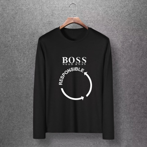 Boss T-Shirts Long Sleeved O-Neck For Men #816796