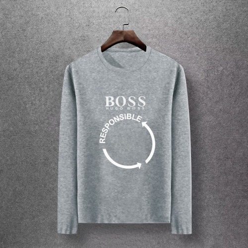 Boss T-Shirts Long Sleeved O-Neck For Men #816797 $27.00 USD, Wholesale Replica Boss T-Shirts