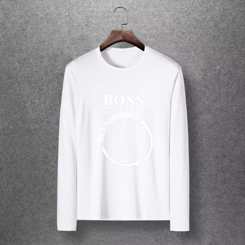 Boss T-Shirts Long Sleeved O-Neck For Men #816798