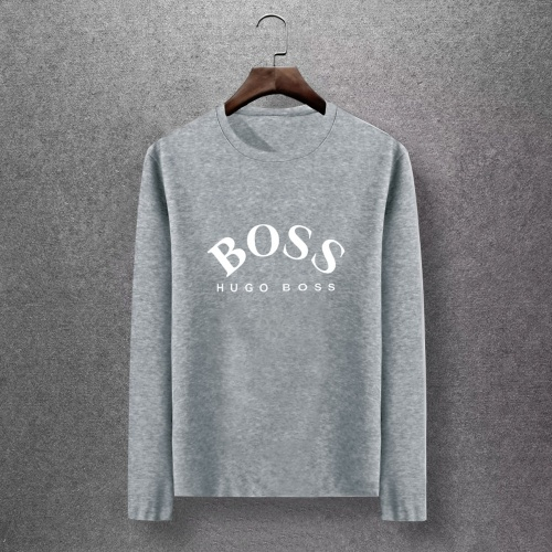 Boss T-Shirts Long Sleeved O-Neck For Men #816804