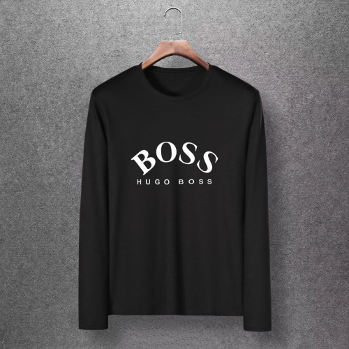 Boss T-Shirts Long Sleeved O-Neck For Men #816805 $27.00 USD, Wholesale Replica Boss T-Shirts