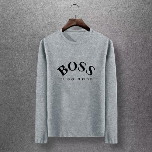 Boss T-Shirts Long Sleeved O-Neck For Men #816808