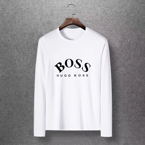 Boss T-Shirts Long Sleeved O-Neck For Men #816809