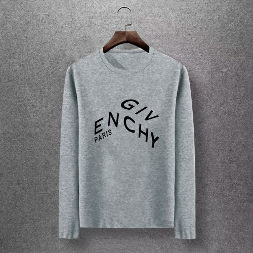 Givenchy T-Shirts Long Sleeved O-Neck For Men #816837 $27.00 USD, Wholesale Replica Givenchy T-Shirts