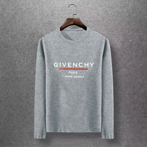 Givenchy T-Shirts Long Sleeved O-Neck For Men #816841 $27.00 USD, Wholesale Replica Givenchy T-Shirts