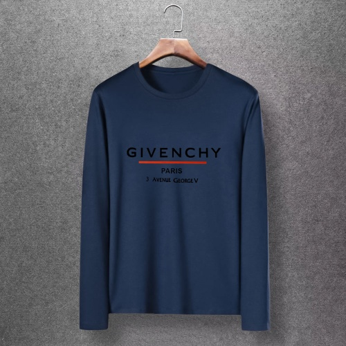 Givenchy T-Shirts Long Sleeved O-Neck For Men #816844 $27.00 USD, Wholesale Replica Givenchy T-Shirts