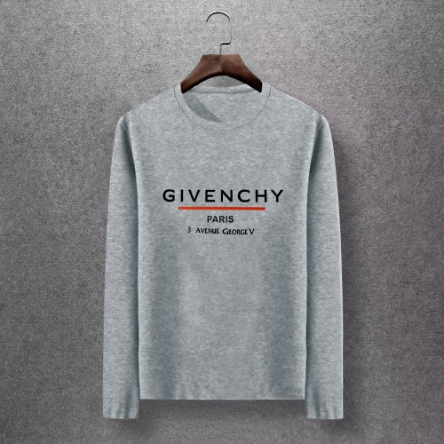 Givenchy T-Shirts Long Sleeved O-Neck For Men #816845 $27.00 USD, Wholesale Replica Givenchy T-Shirts