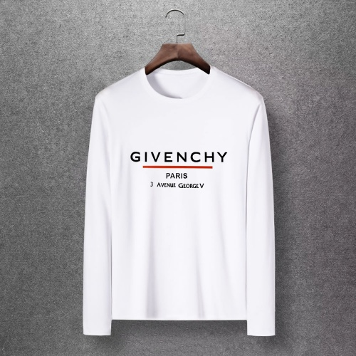 Givenchy T-Shirts Long Sleeved O-Neck For Men #816846 $27.00 USD, Wholesale Replica Givenchy T-Shirts