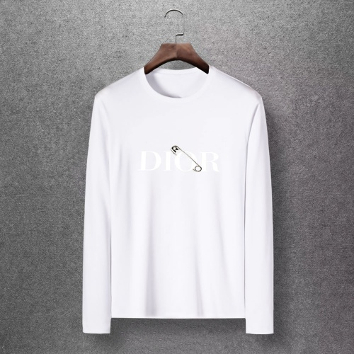 Christian Dior T-Shirts Long Sleeved O-Neck For Men #816872