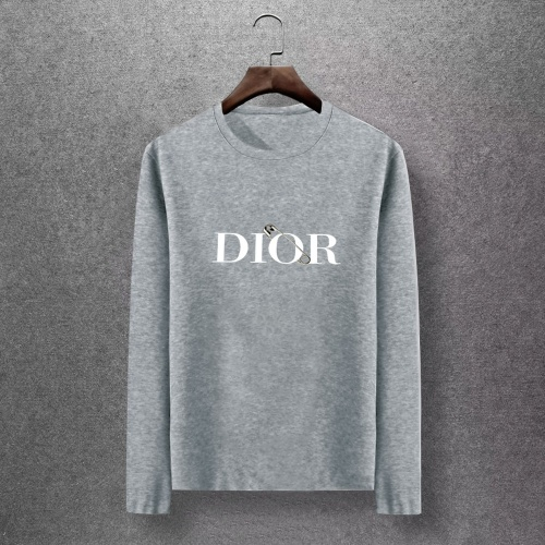 Christian Dior T-Shirts Long Sleeved O-Neck For Men #816873