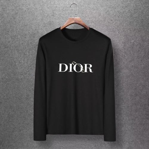 Christian Dior T-Shirts Long Sleeved O-Neck For Men #816874