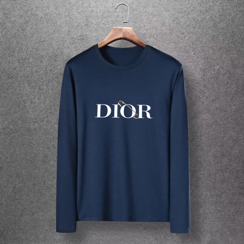 Christian Dior T-Shirts Long Sleeved O-Neck For Men #816875