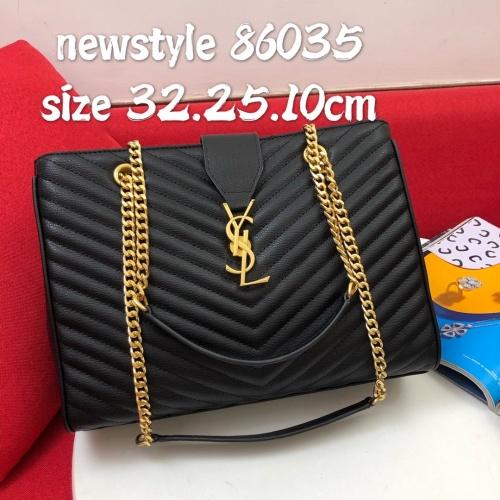 Yves Saint Laurent AAA Handbags #817046 $100.00, Wholesale Replica Yves Saint Laurent AAA Handbags