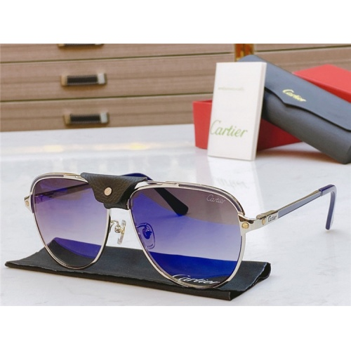 Cartier AAA Quality Sunglasses #817058