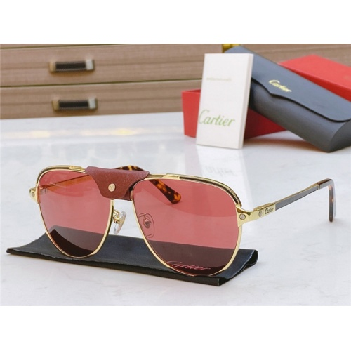 Cartier AAA Quality Sunglasses #817059
