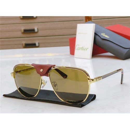 Cartier AAA Quality Sunglasses #817060