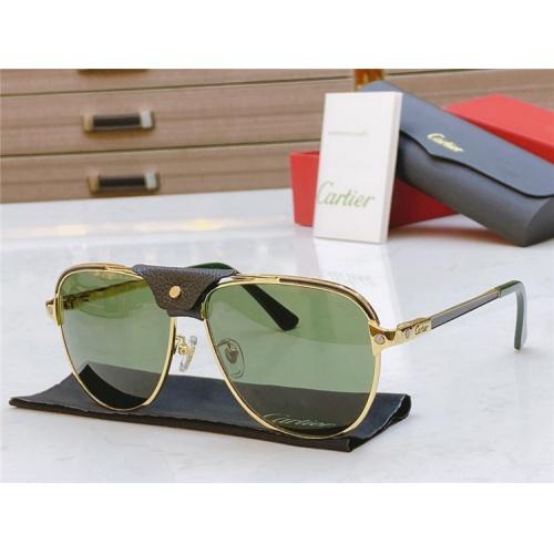 Cartier AAA Quality Sunglasses #817061
