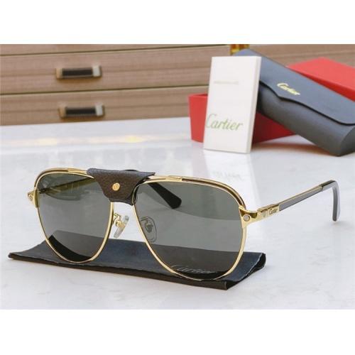 Cartier AAA Quality Sunglasses #817062