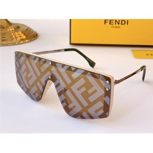 Fendi AAA Quality Sunglasses #817090 $64.00, Wholesale Replica Fendi AAA Sunglasses