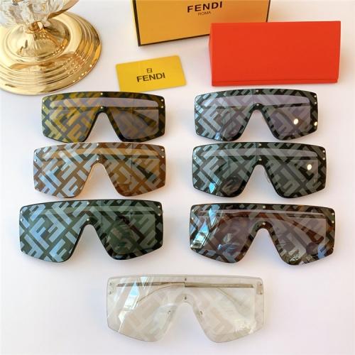 Replica Fendi AAA Quality Sunglasses #817090 $64.00 USD for Wholesale