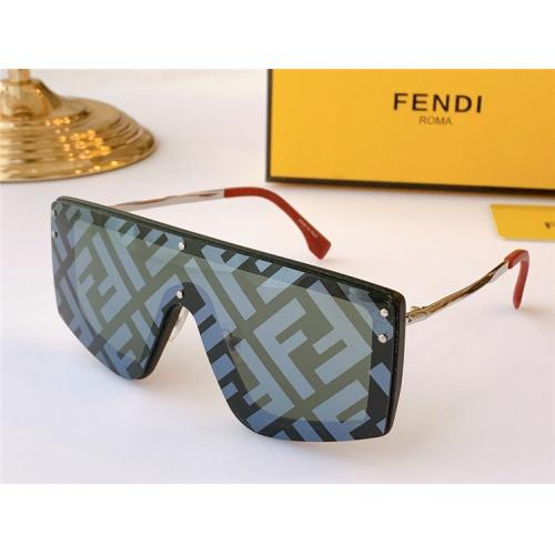 Fendi AAA Quality Sunglasses #817091