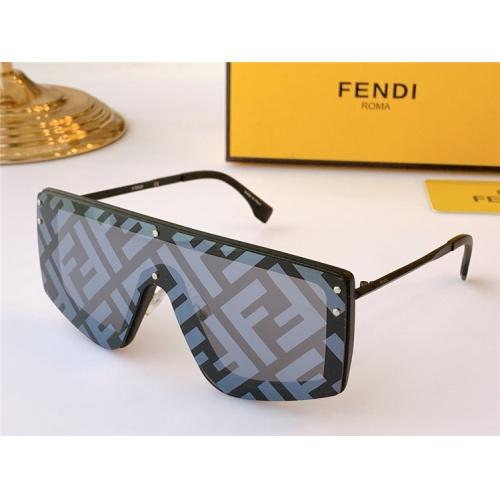 Fendi AAA Quality Sunglasses #817093