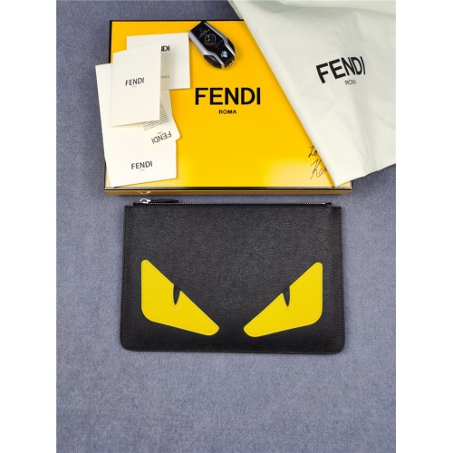 Fendi AAA Man Wallets #817213