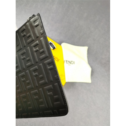 Replica Fendi AAA Man Wallets #817222 $98.00 USD for Wholesale