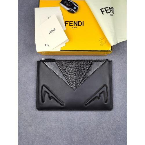 Fendi AAA Man Wallets #817230
