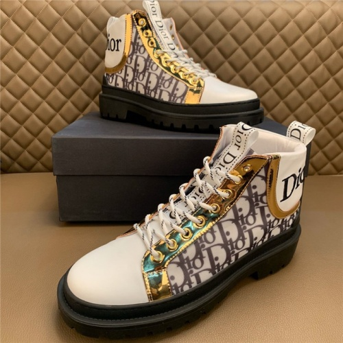 Christian Dior Boots For Men #817300