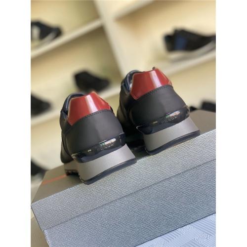 Replica Prada Casual Shoes For Men #817318 $85.00 USD for Wholesale