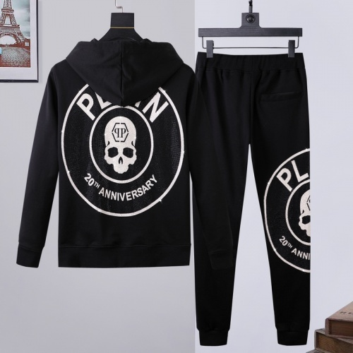 Philipp Plein PP Tracksuits Long Sleeved Zipper For Men #817415
