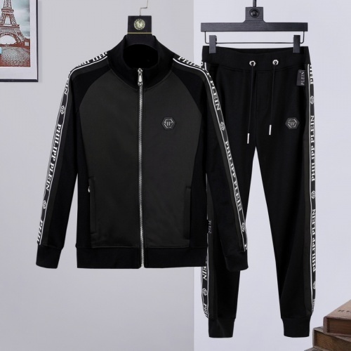 Philipp Plein PP Tracksuits Long Sleeved Zipper For Men #817416