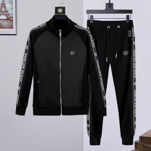 Philipp Plein PP Tracksuits Long Sleeved Zipper For Men #817416