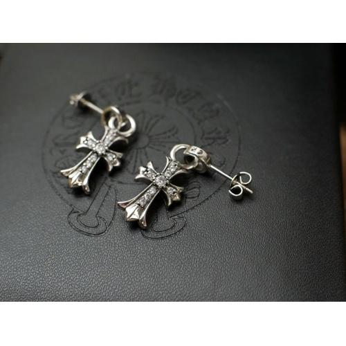 Chrome Hearts Earring #817445 $27.00 USD, Wholesale Replica Chrome Hearts Earring
