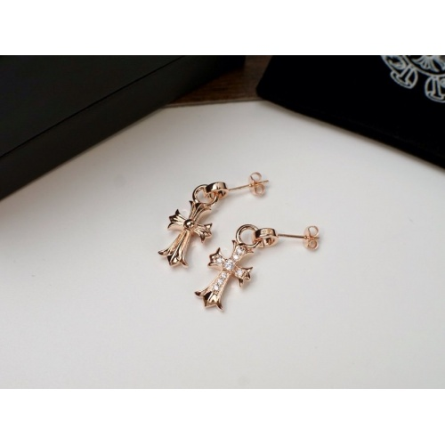 Chrome Hearts Earring #817446 $27.00 USD, Wholesale Replica Chrome Hearts Earring