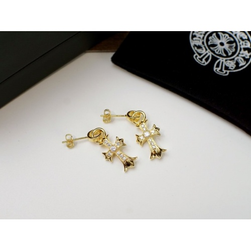 Chrome Hearts Earring #817447 $27.00 USD, Wholesale Replica Chrome Hearts Earring