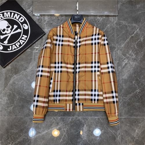 Burberry Jackets Long Sleeved Zipper For Men #817462