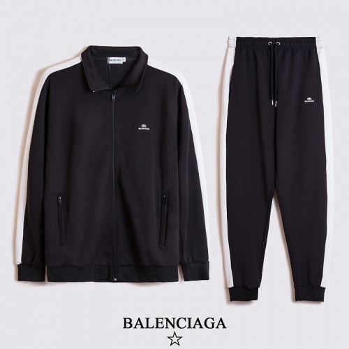 Balenciaga Tracksuits Long Sleeved Zipper For Unisex #817463