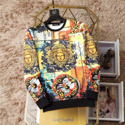 Versace Hoodies Long Sleeved O-Neck For Men #817511
