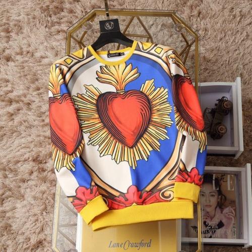 Dolce & Gabbana D&G Hoodies Long Sleeved O-Neck For Men #817517