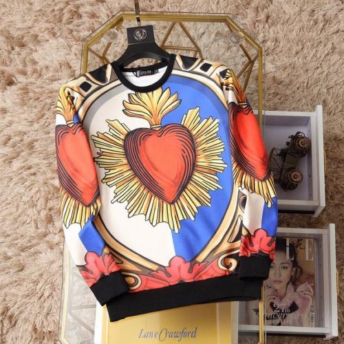 Dolce & Gabbana D&G Hoodies Long Sleeved O-Neck For Men #817518