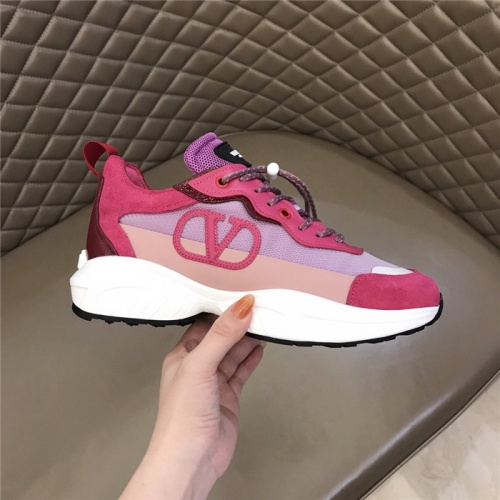 Replica Valentino Casual Shoes For Women #817573 $105.00 USD for Wholesale