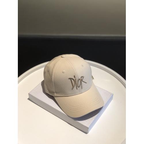 Replica Christian Dior Caps #817636 $32.00 USD for Wholesale