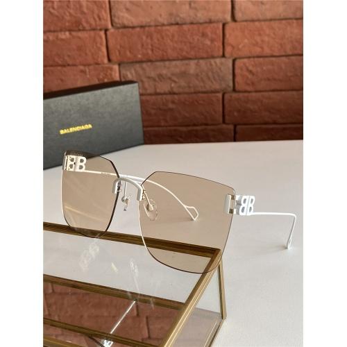 Balenciaga AAA Quality Sunglasses #817732