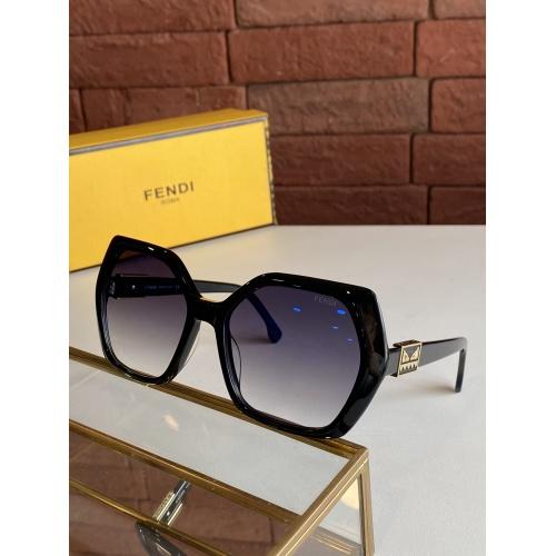 Fendi AAA Quality Sunglasses #817739