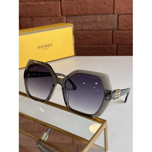 Fendi AAA Quality Sunglasses #817743