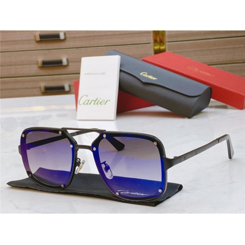 Cartier AAA Quality Sunglasses #817759